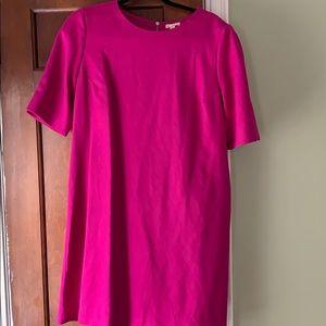 Pink Gap Midi Dress